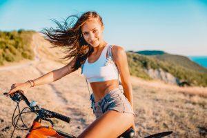 wycieczka na rowerze